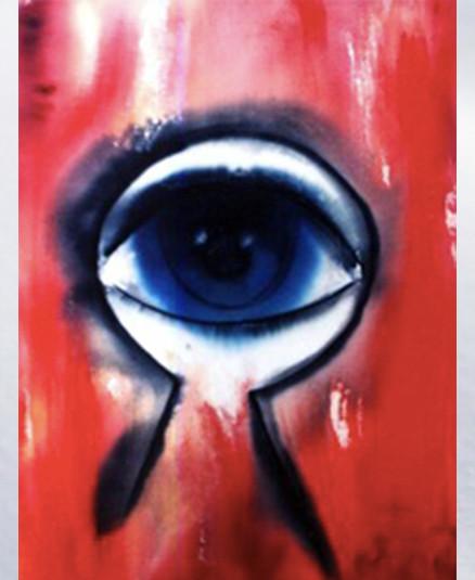 """Journey on Time II  Acrylic on Canvas  28""""x30"""""""