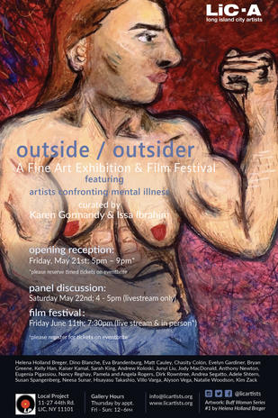 Outside / Outsider - artists confronting mental illness