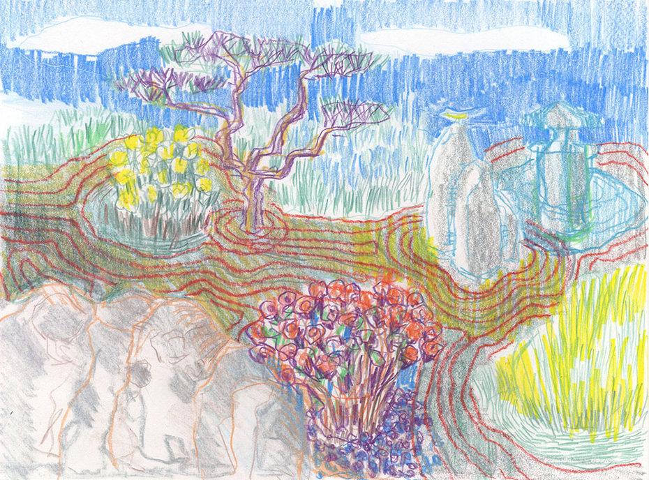 Imagined Zen/Sensory Garden, 2020