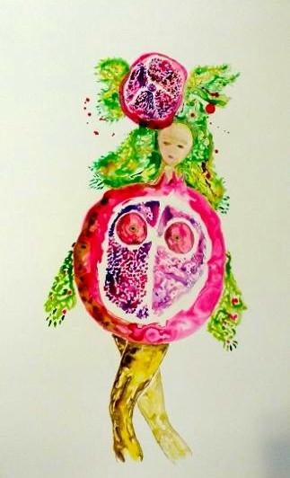 Pomegranate Woman 2020