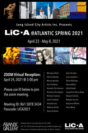 LIC-A @ ATLANTIC Gallery Spring2021