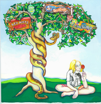 Candy Boy Under the Sugar-Plum Tree with Snake