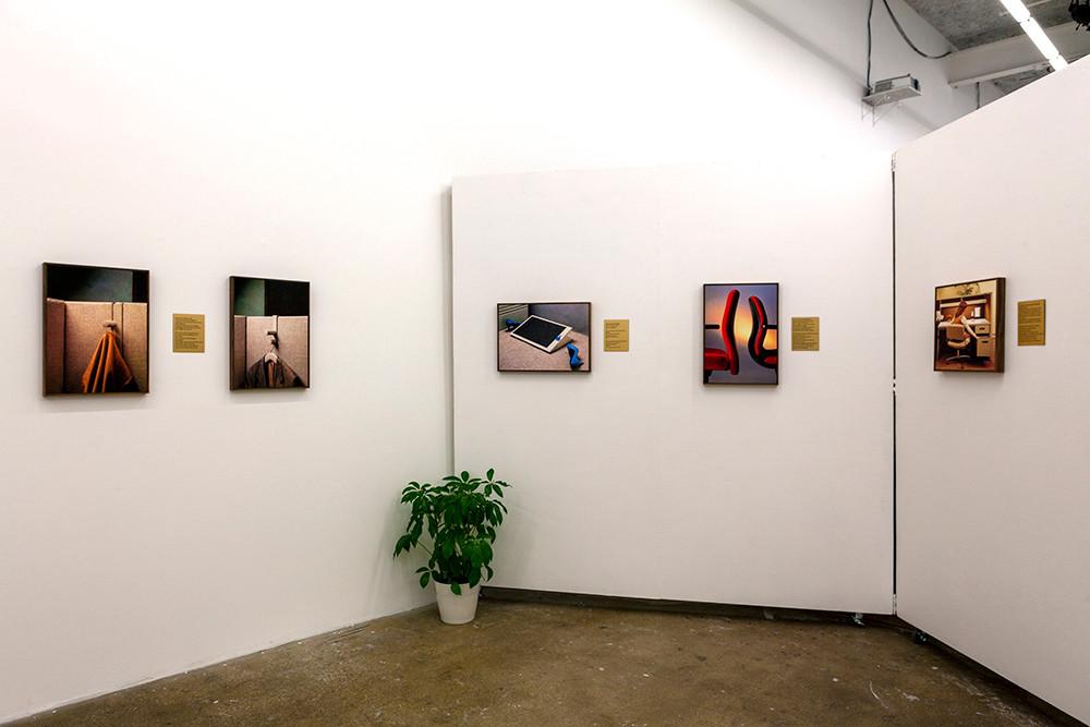 Sandra Erbacher, Install shot at Culture lab LIC