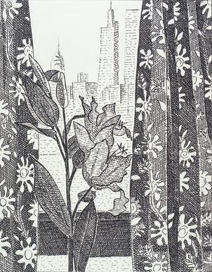 Lilies and Skyline, 2021