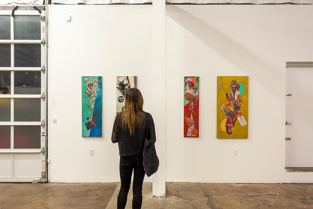 Dominick Troy, Install shot at Culture Lab LIC
