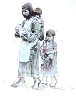 Armenian Mother and Children
