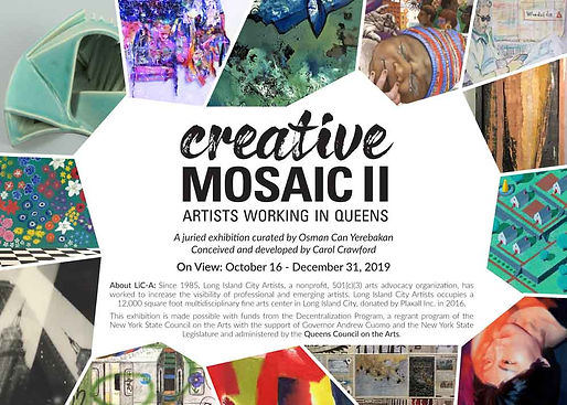 Creative Mosaic II at Citi Community Windows till Dec 31
