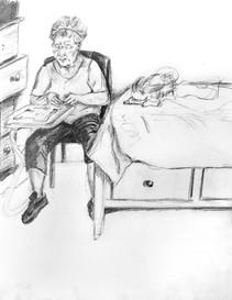 Abuelita in Quarantine, 2020