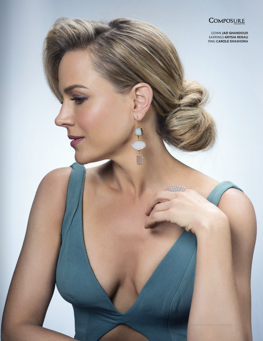 Composure Mag Jun 2015 Julie Benz