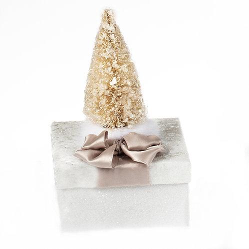 White Christmas Sparkle Gift Box