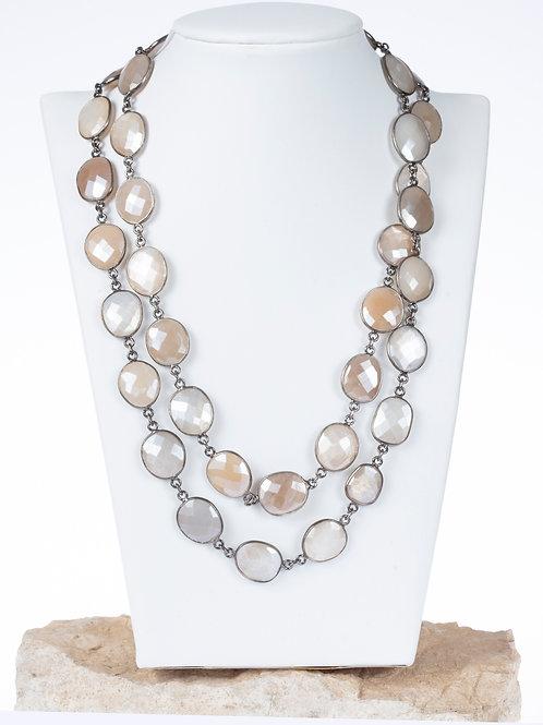 Mystic Moonstone Necklace