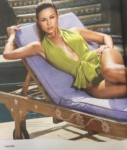 Actress Zulay HenaoAlegria Magazine