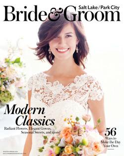 Salt Lake City Bride and Groom