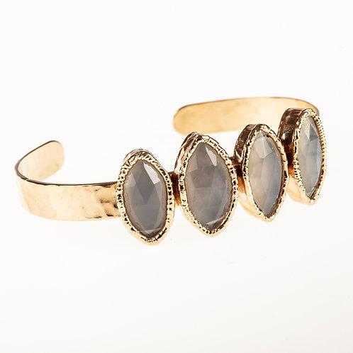 Moonstone Gold Bracelet