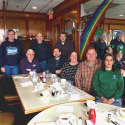 Breakfast at Rainbow Diner