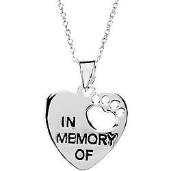 Memorial Pet Necklace