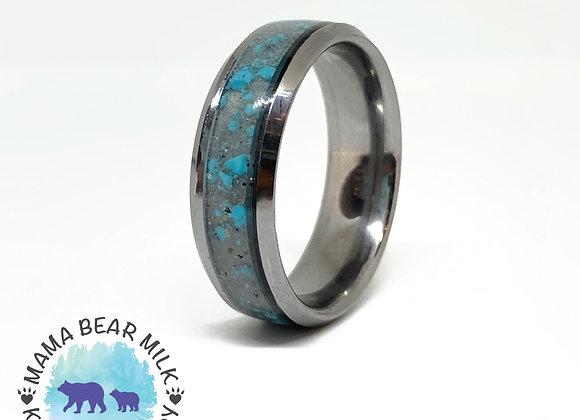 Titanium Inlay Ring