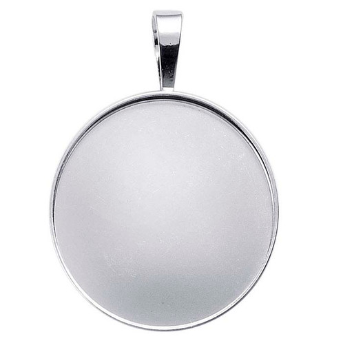 Sterling silver round pendant mozeypictures Image collections