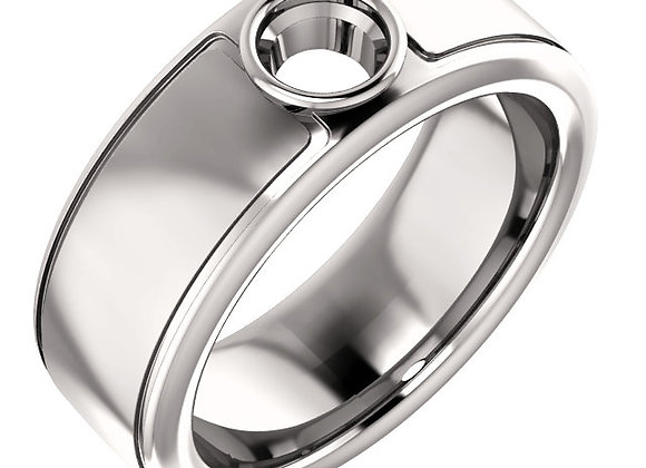 Squared Design Mens Ring