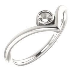 Solitaire Bezel Ring