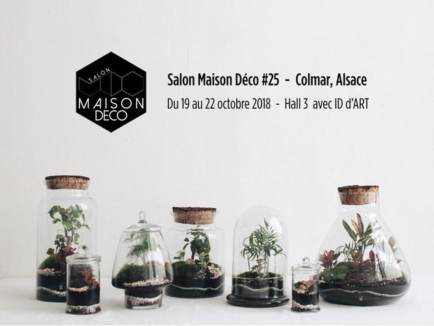 Onno au salon Maison Déco à Colmar avec ID d'ART du 19 au 22 octobre