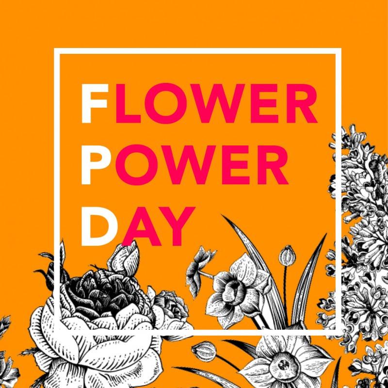 Evènement Flower Power Day organisé par les Curieux dimanche 3 juin