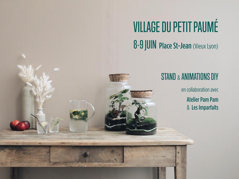 Stand et animation terrarium au Village du Petit Paumé Vieux Lyon