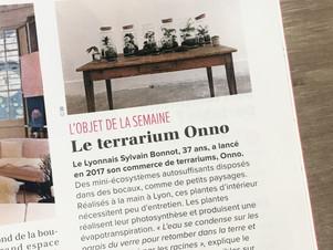 Onno dans la Tribune de Lyon