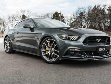 Carbon Wrapped Hood Mustang GT