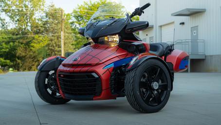 Spider-Man Can-Am F3-T Trike