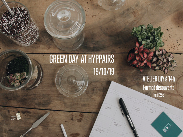 Green Day at HYPPAIRS !