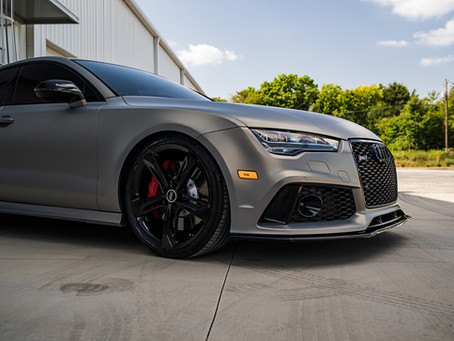 Lowered & Wrapped Audi RS7