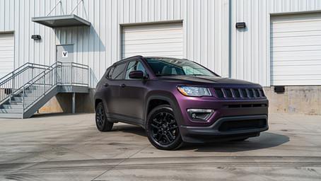 'Matt Midnight Purple' Jeep Compass