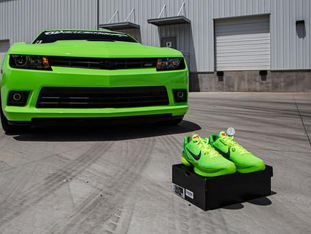 Nike inspired Camaro SS