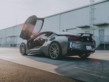 Nardo Grey BMW i8