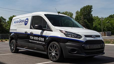 Commercial Wrap Ford Transit Van
