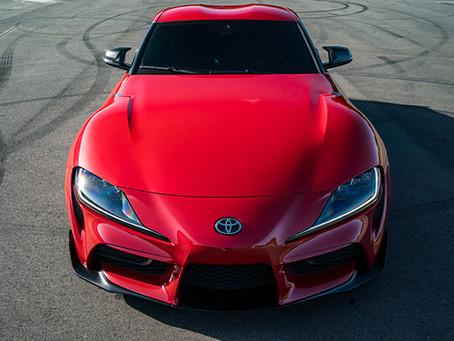 Toyota Supra Paint Protection Film