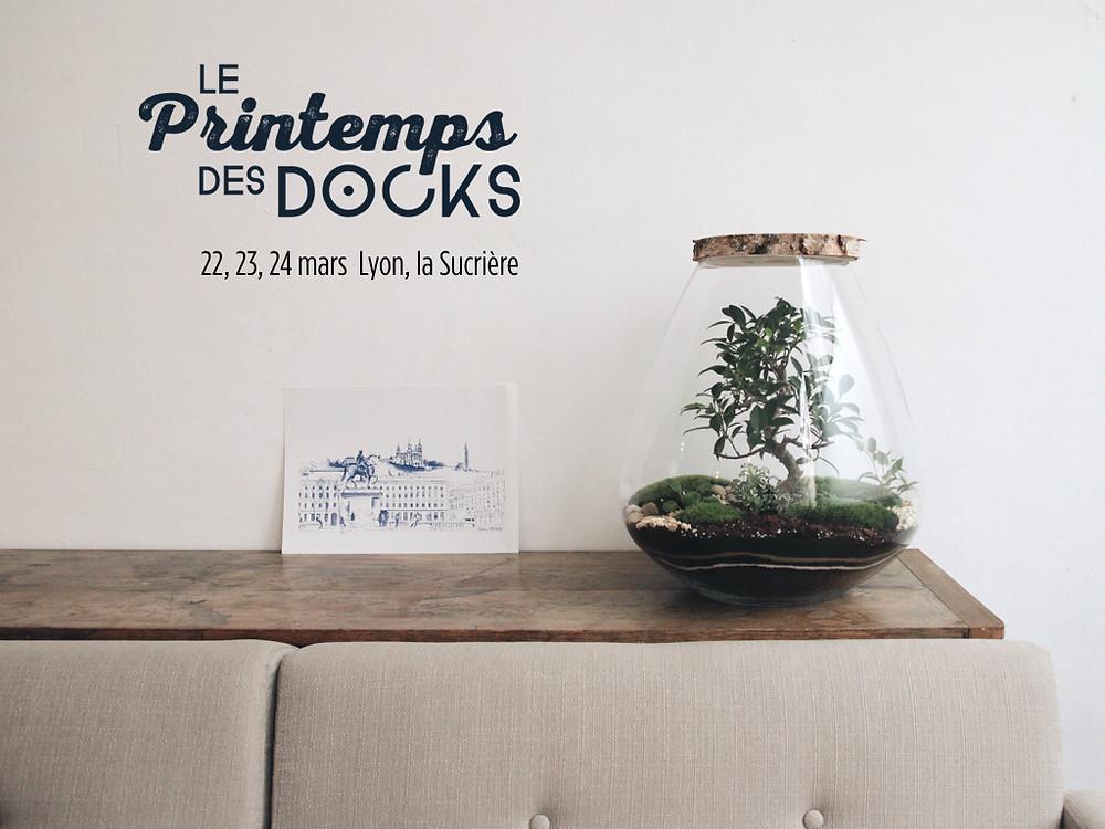 Les terrariums Onno aux Printemps des Docks à Lyon France