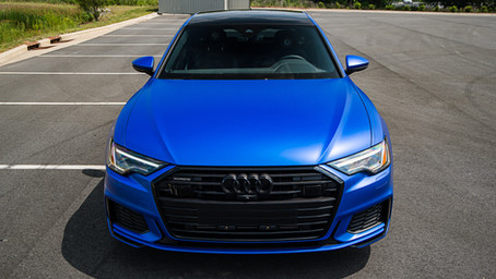 Audi A6 'Matt Anodized Dark Blue'