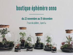 Découvrez la boutique éphémère du 22 novembre au 31 décembre