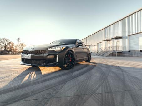 Custom Wrapped 500hp Kia Stinger GT