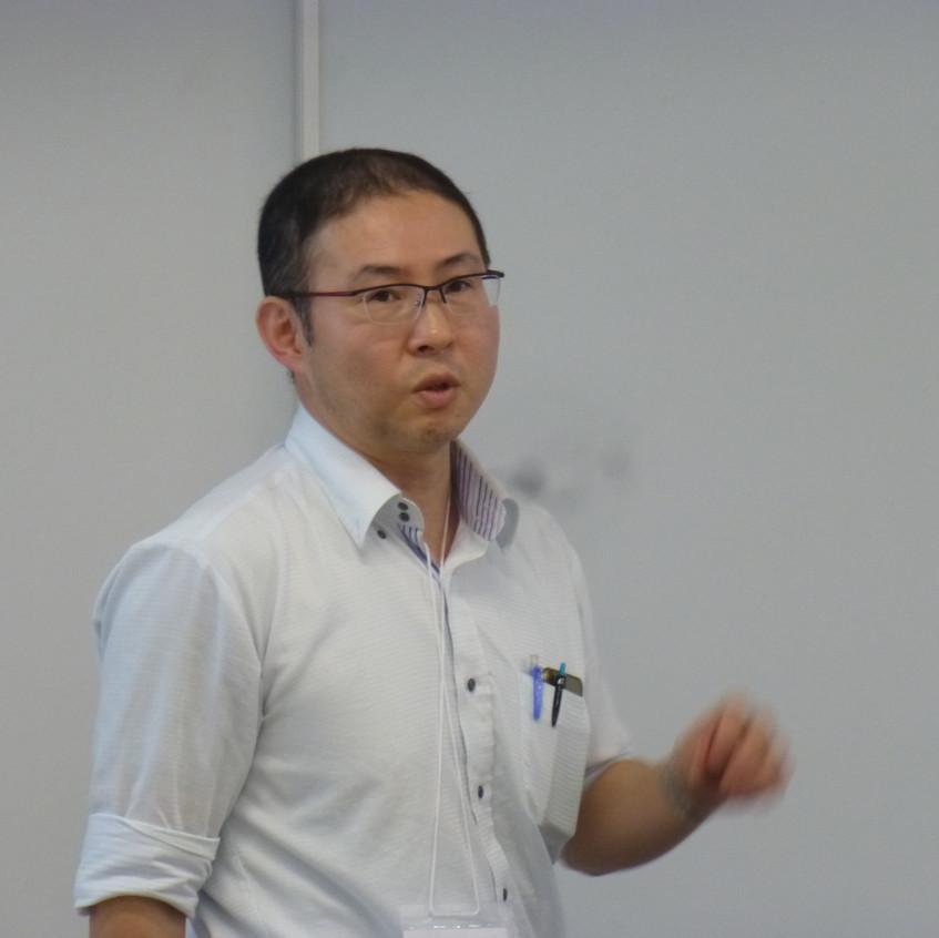 発表(浜田英紀先生)