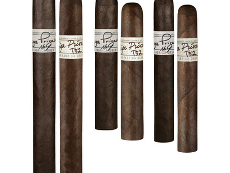 Liga Privada No. 9 and T52 Line Extensions ship to Drew Diplomat Retailers