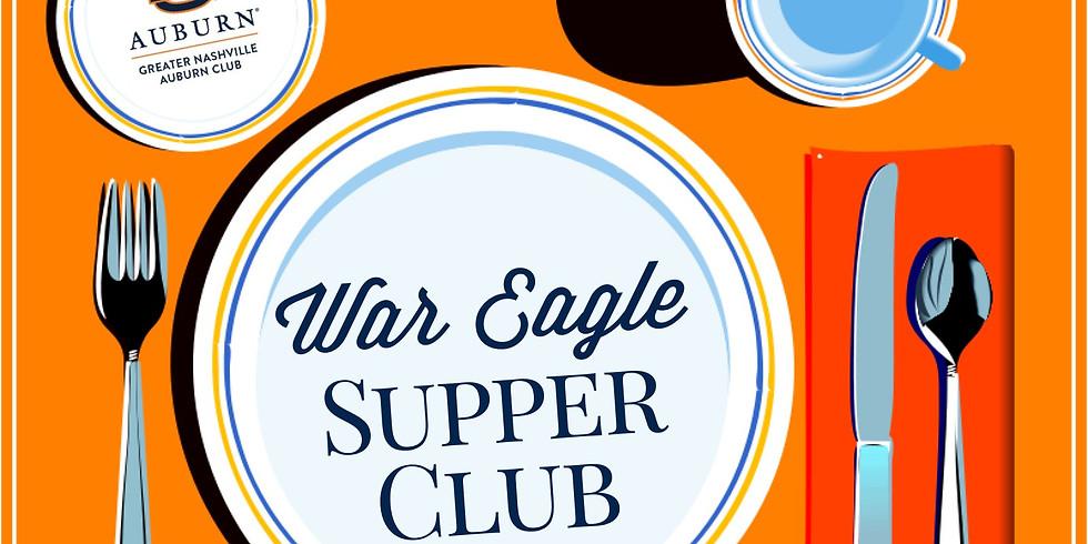 War Eagle Supper Club - June 2019