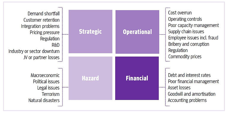 This is an image of business risks to co