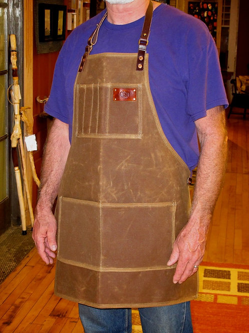 Waxed Canvas Shop Apron