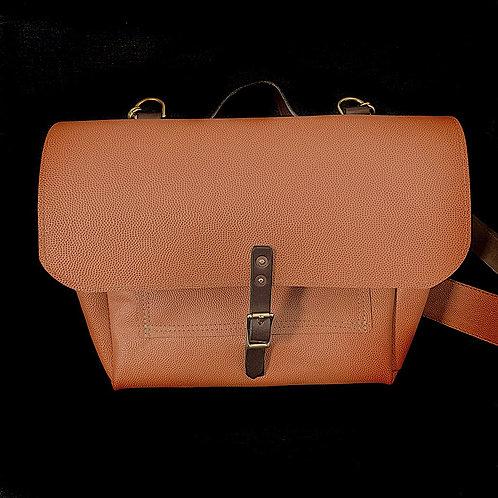 Basketball Leather Messenger Bag