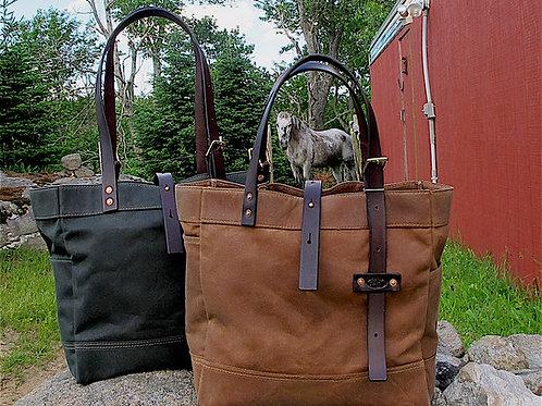 """Pack Horse """"Cincha"""" Tote"""