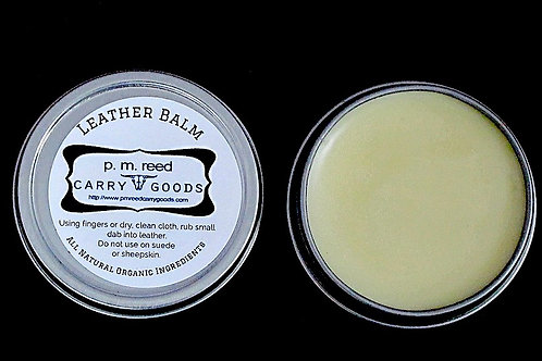 All Natural p.m.reed CARRY GOODS Leather Balm