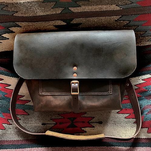Black Jack Crazy Horse Messenger Bag